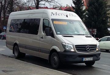 Merc-Bus zzawieszonymi wieczornymi kursami