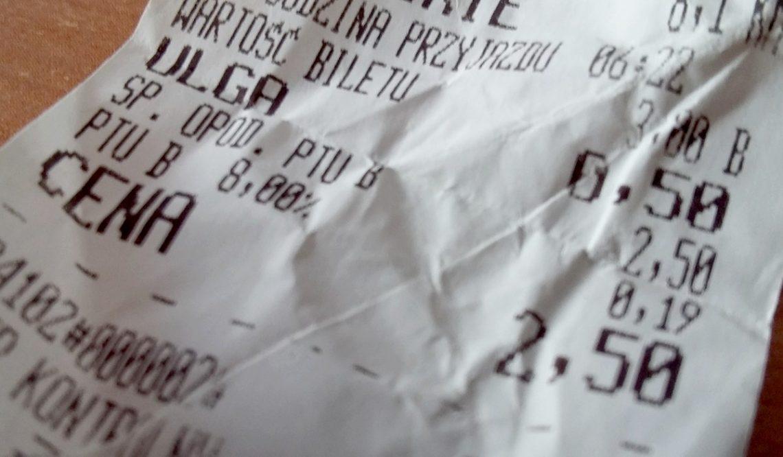 Od1 czerwca podwyżka cen biletów jednorazowych wpowiecie suskim [Aktualizacja]