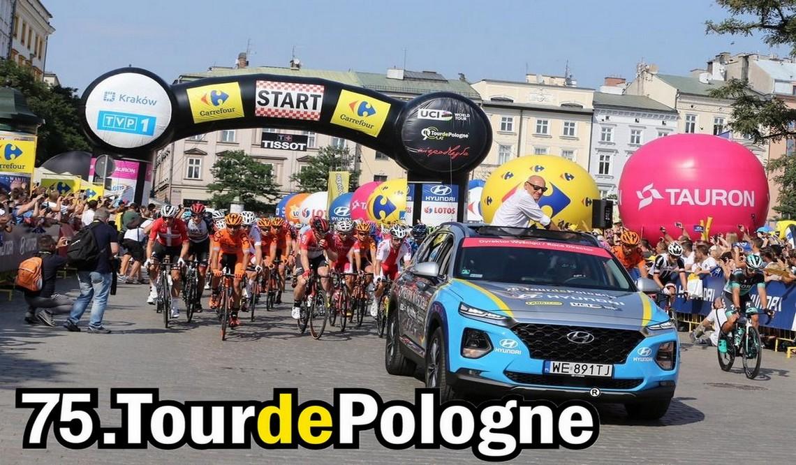 Tour de Pologne 2018 – utrudnienia naliniach doŻywca, Bielska-Białej, Krakowa, Wadowic iKatowic