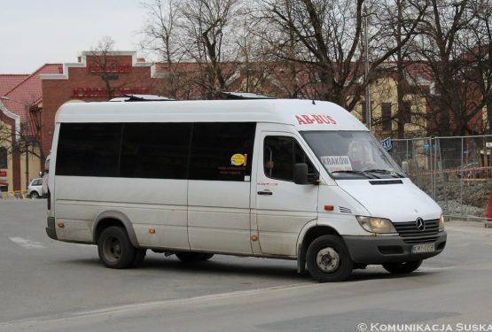 Firma AB-Bus zrezygnowała zobsługi linii relacji Jordanów – Kraków!