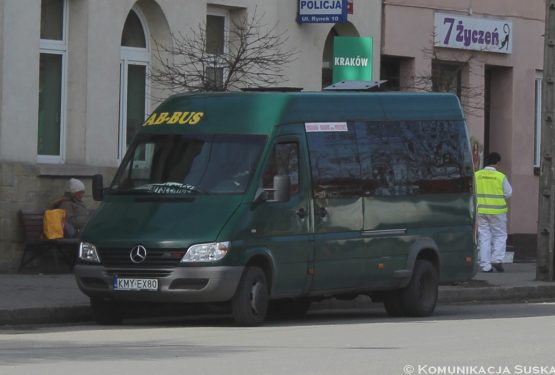 AB-Bus likwiduje połączenie Jordanów – Kraków!