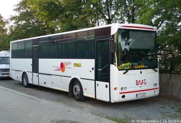 Zmiany wkursowaniu busów naliniach doJordanowa orazBielska-Białej