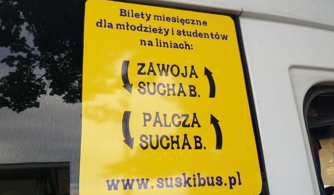 Spółka Suski Bus zakończyła swoją działalność przedoficjalnym rozpoczęciem!