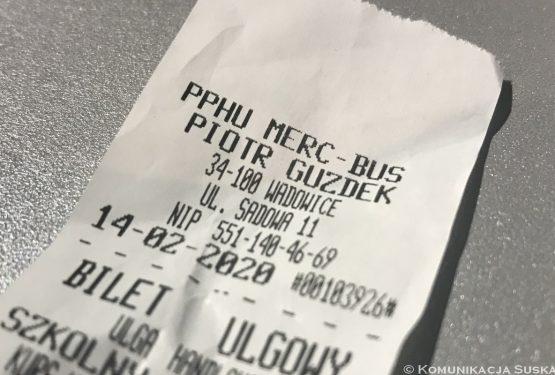 Merc-Bus podniósł ceny biletów nalinii Zawoja – Kraków
